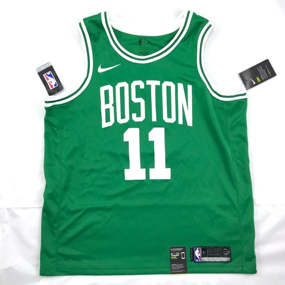 new product 58d72 b956a Nike NBA Boston Celtics Kyrie Irving Away Jersey NWT